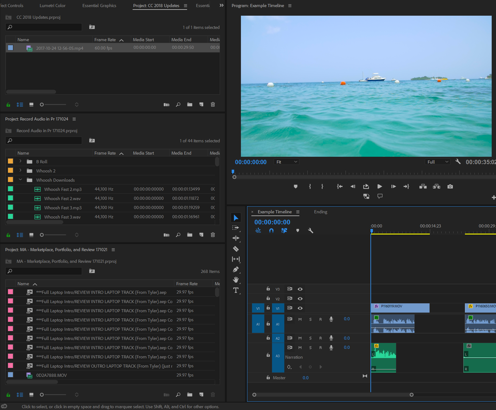 Premiere Pro and After Effects Updates   Adobe CC 2018