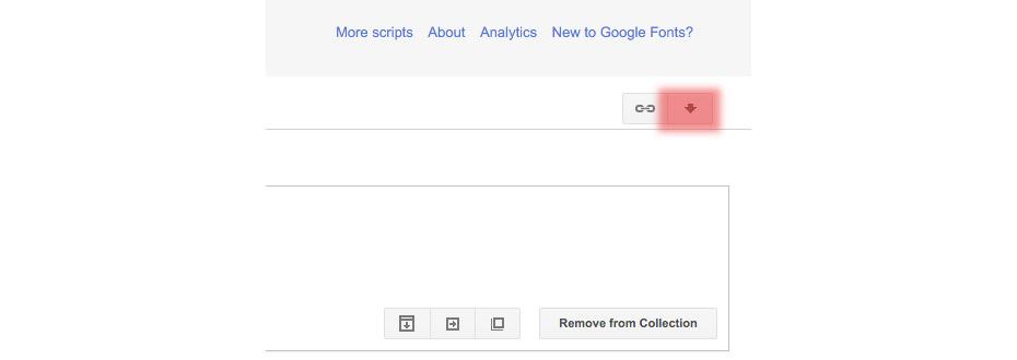free google fonts download