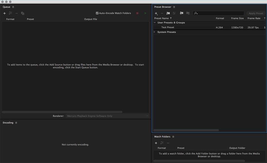 adobe media encoder vs after effects render