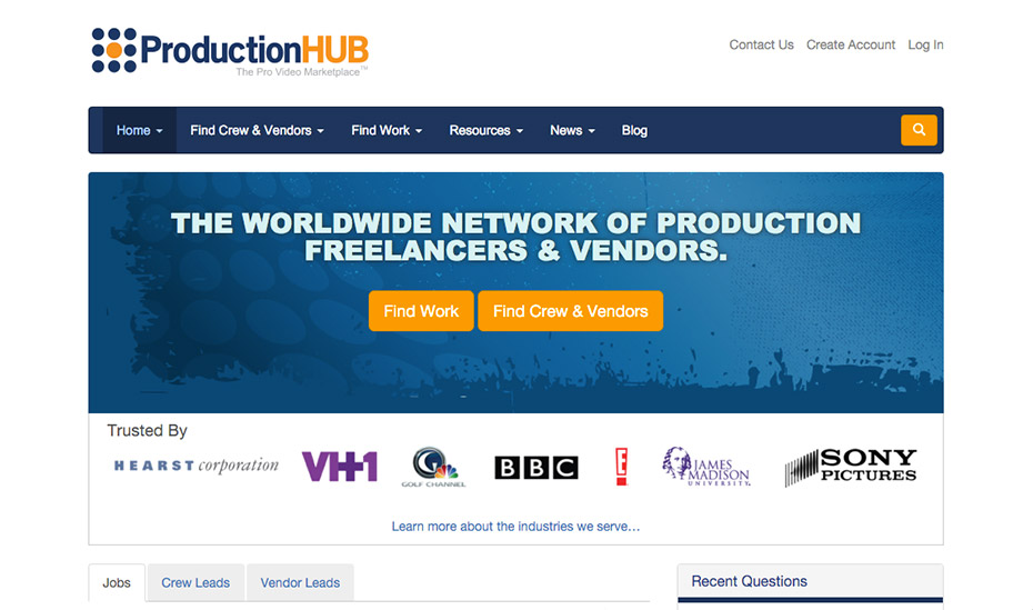 Online Editing Jobs | Production Hub