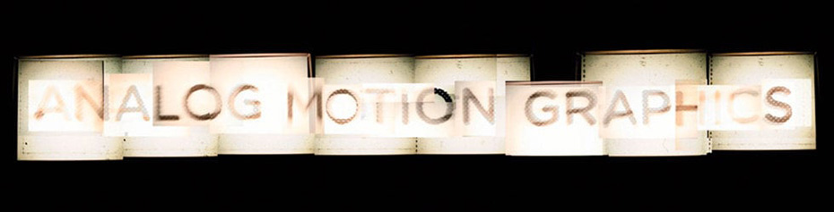 Vimeo Channels   Analog Motion Graphics
