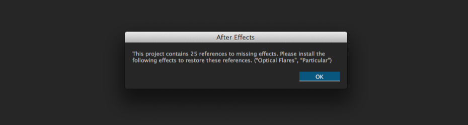 Common errors with After Effects Templates and how to fix
