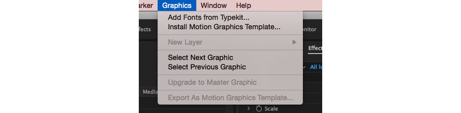 install motion graphics template premiere pro